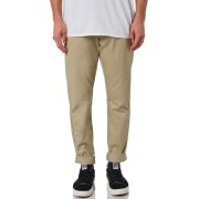Dickies Cotton Polyester Spandex Low Rise Woven Mens Chino Pants Desert Sand