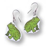 Żaba - kolczyki