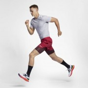 Nike Camisola de running de manga curta Nike Dri-FIT Miler para homem - Cinzento