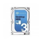 Disco Duro Interno Seagate Desktop HDD 3.5'', 3TB, SATA III, 6 Gbit/s, 7200RPM, 64MB Cache - Unidad Solamente