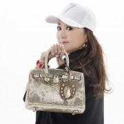Anne Coquine ホースシューチャーム付バッグ【QVC】40代・50代レディースファッション