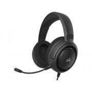 Corsair Auriculares Gaming CORSAIR HS45 Surround (Con Cable - con Micrófono - Negro)