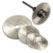 HSS Saw Blade Rotary Tool Circular Saw Blade Set+Mandrel fit Dremel Cutoff+Shank