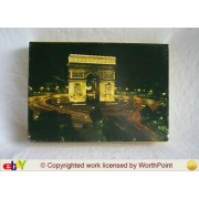 Vintage 1972 Springbok World of Wonder Series Puzzle - L'arc De Triomphe, Paris