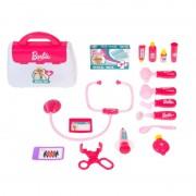 Barbie set doctor Mega Creative, 17 piese, 50 x 34 x 10 cm, 3 ani+