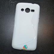 Husa Silicon Gel Samsung Galaxy Core 4G G386F LTE S-Line Alba