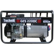 Generator de curent electric si sudura trifazic 14CP, Tehnik GES-220DC