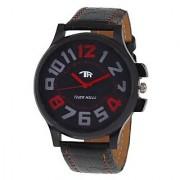 Tigerhills Analog Black Leather Watch - Men