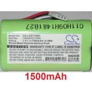 Batterie Pour Logitech S315i, Logitech S715i, P/N: 180aahc3tmx , 3.6v Ni-Mh **1500mah**