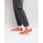 Vans Old Skool träningsskor/sneakers i orange VA38G12W1 - Orange