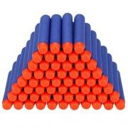 GREATLOVE 100x Elite Dart Refill Pack Bullet Darts for Nerf N-strike Elite Series Blasters Blue