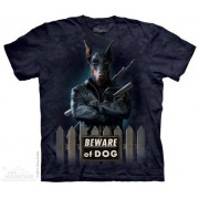 3D Hi-tech tričko - Doga