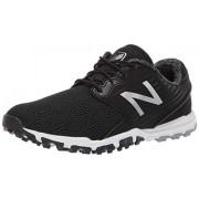 New Balance Women's Minimus SL Breathable Spikeless Comfort Golf Shoe, Black, 10 M