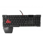 Клавиатура A4Tech Bloody B640 Black-Red USB