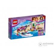 LEGO® Friends Barca transportoare cu motor a Andreei 41316