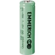 Acumulator NiMH, AA, 1,2 V, 850 mAh, Emmerich
