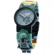 Lego Reloj de pulsera con Minifigura de Boba Fett - LEGO Star Wars