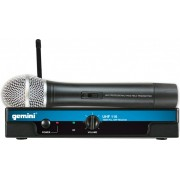 Gemini - GEMW-UHF 116M Non Diversity 16 Channel Hand Held Microphone System