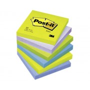 NOTES AUTOADEZIV POST-IT MINT 76X76 mm, 6 culori neon/set