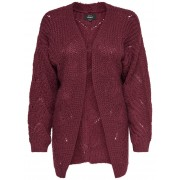 ONLY Detailed Knitted Cardigan Kvinna Brun