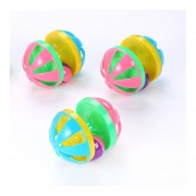 EY Cat juguetes suaves bolas de espuma EVA Pet Rainbow-Random