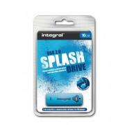 USB Flash 16GB 2.0 Integral Splash Blue, 105522