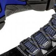 PUMA Safety Bezpečnostní obuv S3 PUMA Safety Rio Black Mid 632250-42, vel.: 42, černá, modrá, 1 pár