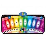 Juguetes BP Hudební kobereček s aktivitami Rainbow Piano 35x80 cm