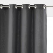 La Redoute Interieurs Cortinado liso em puro algodão entrançado, PANAMAAntracite- 180 x 140 cm