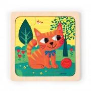 Felix, a cica puzzle, 9 részes Janod