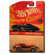 Hot Wheels Classics 2005 Series 2 3/30 1965 Corvette Spectraflame Brown Die Cast Limited Edition Mint Collectible 1:64 Scale