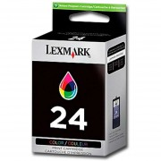Cartucho Tinta Lexmark 24 Color 18c1524 Original