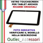 Vetro Touch Touchscreen Tablet Archos Originale 90 COPPER 3G NERO