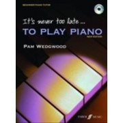 Its never too late to play piano - a learn as you play tutor with interacti
