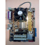 KIT PLACA DE BAZA Asus P5GC-MX/133 , SOCKET 775 , 2 X DDR2 , 4 X SATA2 , VGA , E2160 Dual Core 1.80 GHZ