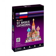 Cubicfun 3D Puzzle - ST.BASIL'S CATHEDRAL, World's Great Architeture