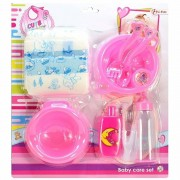 Geen Poppen baby accessoires set