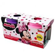 Set 2 borcanase plastilina - Minnie Mouse