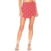 Privacy Please Emory Skort in Red. - size S (also in L,M,XL,XS)
