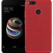 Husa Senno Rock Slim Air Plastic pentru Xiaomi Mi A1 sau 5X Rosu