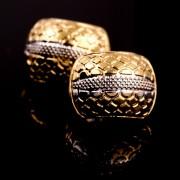 Cercei placati cu aur 18 K My Precious