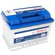 Bosch S4 12V 74Ah 680A Bal+ autó akkumulátor