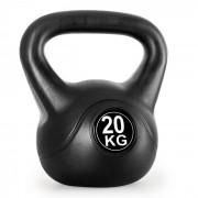 Kettlebells Bola Cimento Peso Treino Fitness 20kg