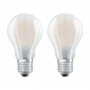 OSRAM LED bulb E27 7 W warm white, set of 2