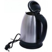 Mezire Hot Water Pot Portable Boiler Tea Coffee Warmer Heater Electric Kettle(1.8 L, Silver)