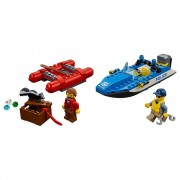 Lego Escape en aguas salvajes Lego City Police 60176