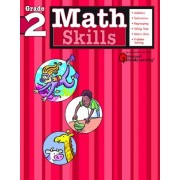 Math Skills: Grade 2 (Flash Kids Harcourt Family Learning), Paperback