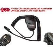 PJD-3603-GP344 MICRO/ALTOPARLANTE PER MOTOROLA GP344/388, GP328Plus, HYT TC700P Multipin