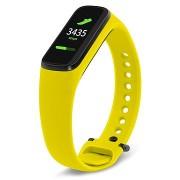 Tactical szilikonszíj Samsung Galaxy Fit e aktivitásmérőhöz - sárga