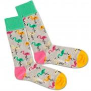 DillySocks Ponožky 'Flamingo Party'